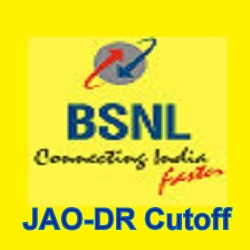 BSNL JAO-DR Gen OBC SC ST Expected Cutoff 2017