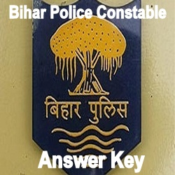 Bihar Constable Answer Key