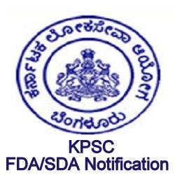 KPSC FDA/SDA Notification 2021