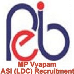 MP Vyapam ASI (LDC) Recruitment
