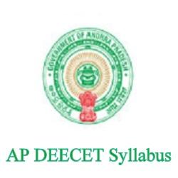 AP DEECET Syllabus