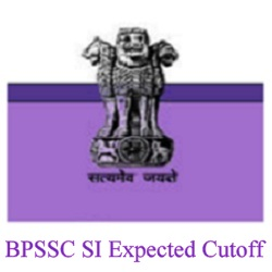 BPSSC Police SI Cut off 2020