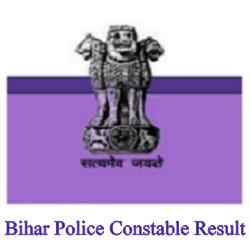 Bihar Constable Exam Result 2019