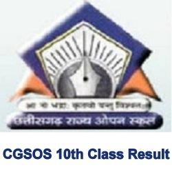 CGSOS 10th result 2021
