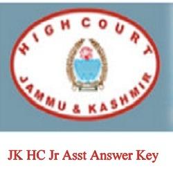 Jk HC Asst Answer Key