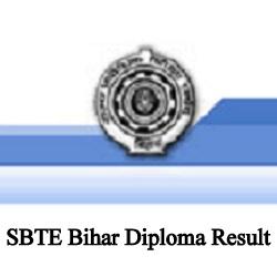 SBTE Bihar Diploma Result