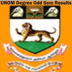 UNOM BA B.Sc B.Com Nov Exam Result