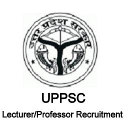 UPPSC Lecturer Professor Recruitment
