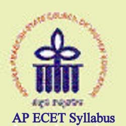 AP ECET Syllabus