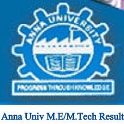 Anna University M.E/M.Tech Result 2021