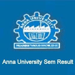Anna University MSC Result 2021