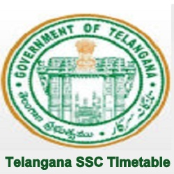 TS SSC Time table 2022