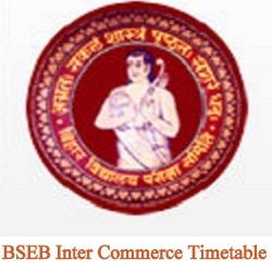Bihar Board 12th Commerce Routine 2020