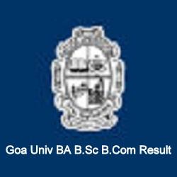 Goa Univ BA B.Sc B.Com Result