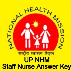 UP NHM Staff Nurse Answer Key 2021