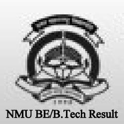 NMU BE/B.Tech Result