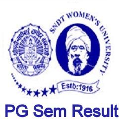 SNDT Womens Univ PG Result 2021
