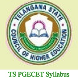 TS PGECET Syllabus 2019