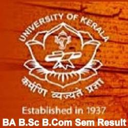 Kerala University Result 2021