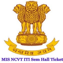 NCVT MIS Hall Ticket Ticket 2021