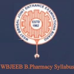 WBJEEB B.Pharmacy Syllabus