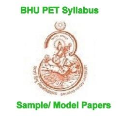 BHU PET Syllabus 2021