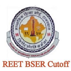 BSER REET Cut off 2021