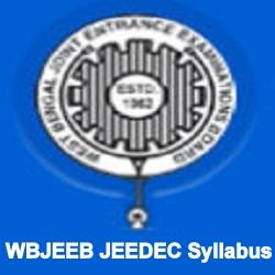 WBJEEB JEEDEC Syllabus