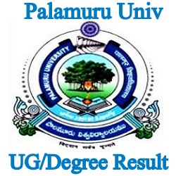 Palamuru University Degree Result