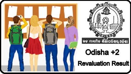 CHSE Odisha +2 Revaluation Result