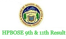 HPBOSE 9th 11th Result 2021