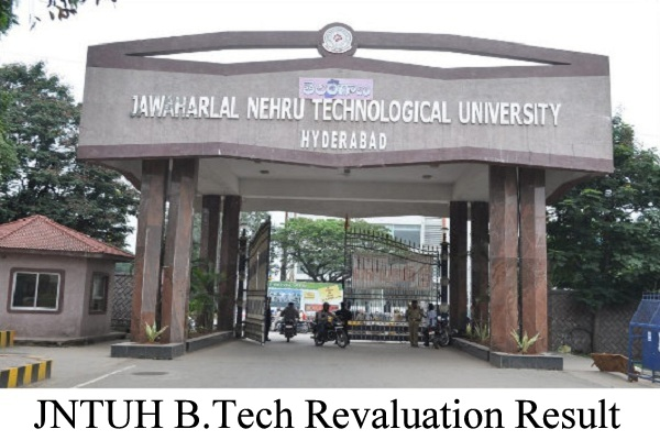 JNTUH B.Tech Revaluation Result 2020