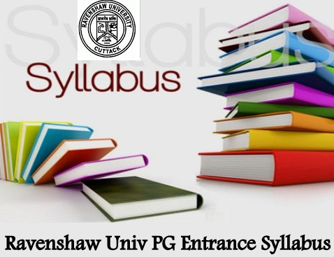 Ravenshaw Univ PG Entrance Syllabus