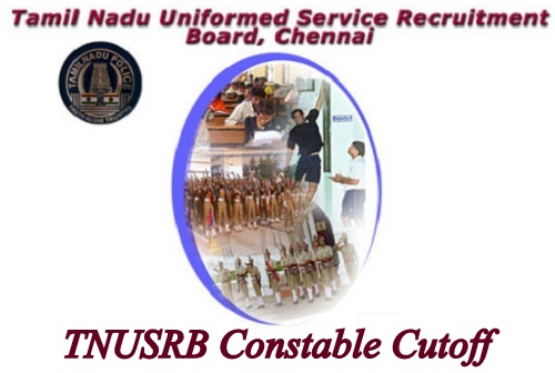 TNUSRB Constable Cutoff 2019