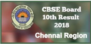 CBSE Chennai Region 10th Result 2021