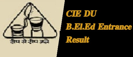 DU B.El.Ed Entrance Result 2021