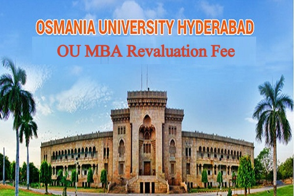 OU MBA Revaluation Fee