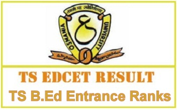 Telangana B.Ed Entrance Result 2020