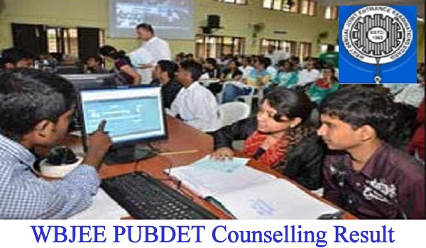 WBJEE PUBDET Counselling Result