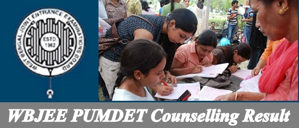 WBJEE PUMDET Counselling Result