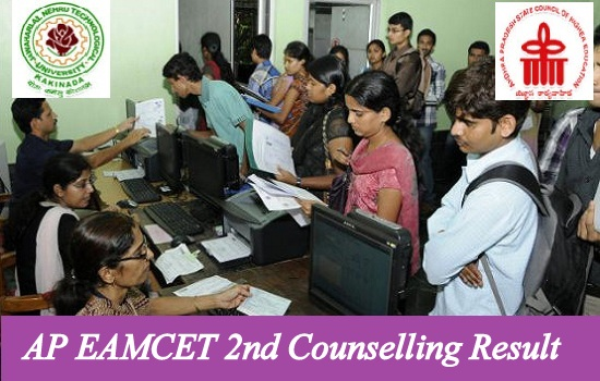 AP EAMCET 2nd Counselling Result 2021