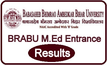BRABU M.Ed Entrance Result