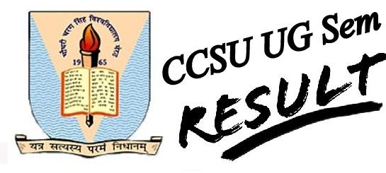 CCSU UG Result 2020