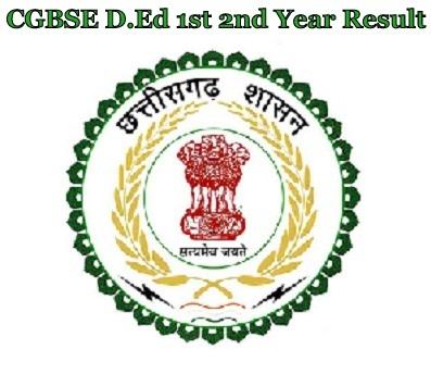 CG D.Ed Result 2021