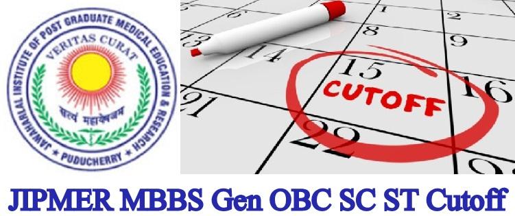 JIPMER MBBS Expected Cut Off 2020