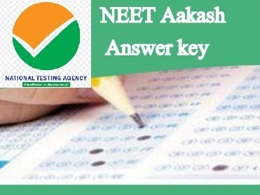 neet aakash answer key 2020