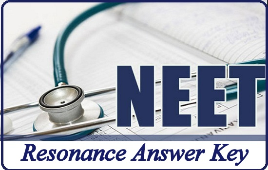 NEET 2019 Resonance Answer Key