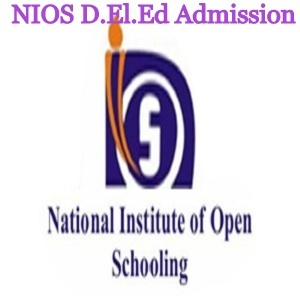 NIOS D.El.Ed Admission 2020