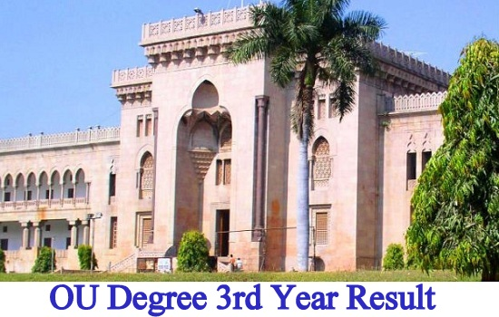 OU Degree 3rd Year Result