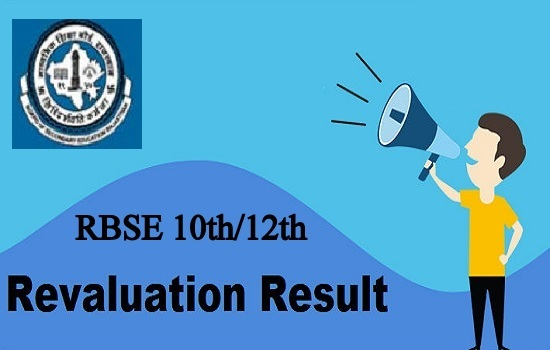RBSE Revaluation Result 2020